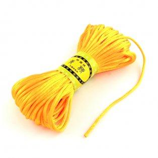 Polyesterová šňůra - oranžová - ∅ 2 mm - 20 m - 1 ks