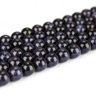 Syntetický modrý živec - ∅ 8 mm - 1 ks