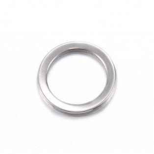 Spojovací mezidíl z nerezové oceli - kroužek - ∅ 11 mm - 1 ks