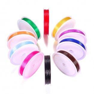 Elastomer - barevný - ∅ 0,6 mm - 10 m - 1 ks