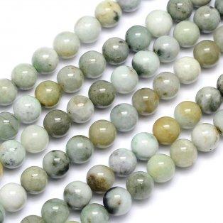 Přírodní jadeit - ∅ 10 mm - 1 ks