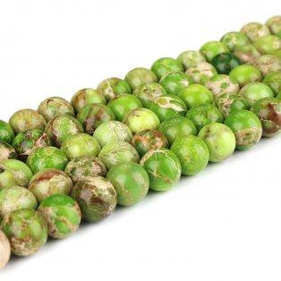 Přírodní regalit - světle zelený - ∅ 8 mm - 1 ks