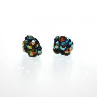Korálky typu shamballa - disco - 8 x 8 mm - 1 ks