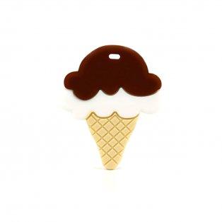 zmrzlina hnědá