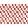 Dárkový balicí papír - červený - proužky - 70 x 200 cm - 1 ks