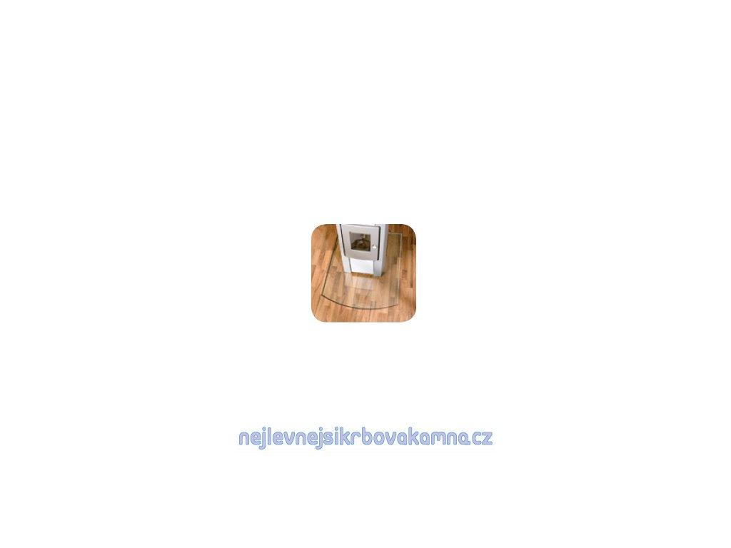 Lienbacher sklo pod kamna 85x110 cm