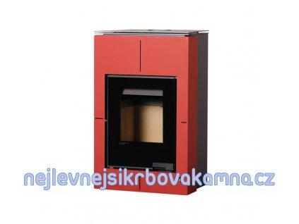HS FLAMINGO Aquaflam VARIO ® SAPORO 11/5 červená  + dárek 20kg dřevěných briket ZDARMA!!!