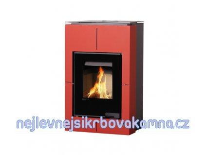 HS FLAMINGO Aquaflam VARIO ® SAPORO 11/7 červená  + dárek 20kg dřevěných briket ZDARMA!!!