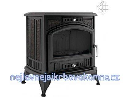 Kratki KOZA K6 TV černá 130 mm