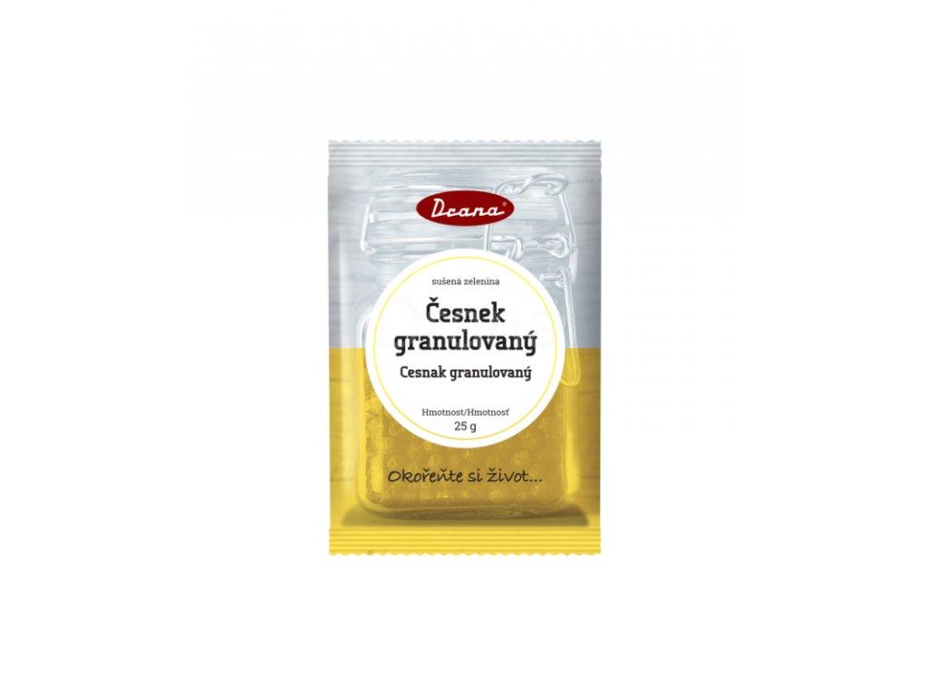 česnek granulovaný 25g