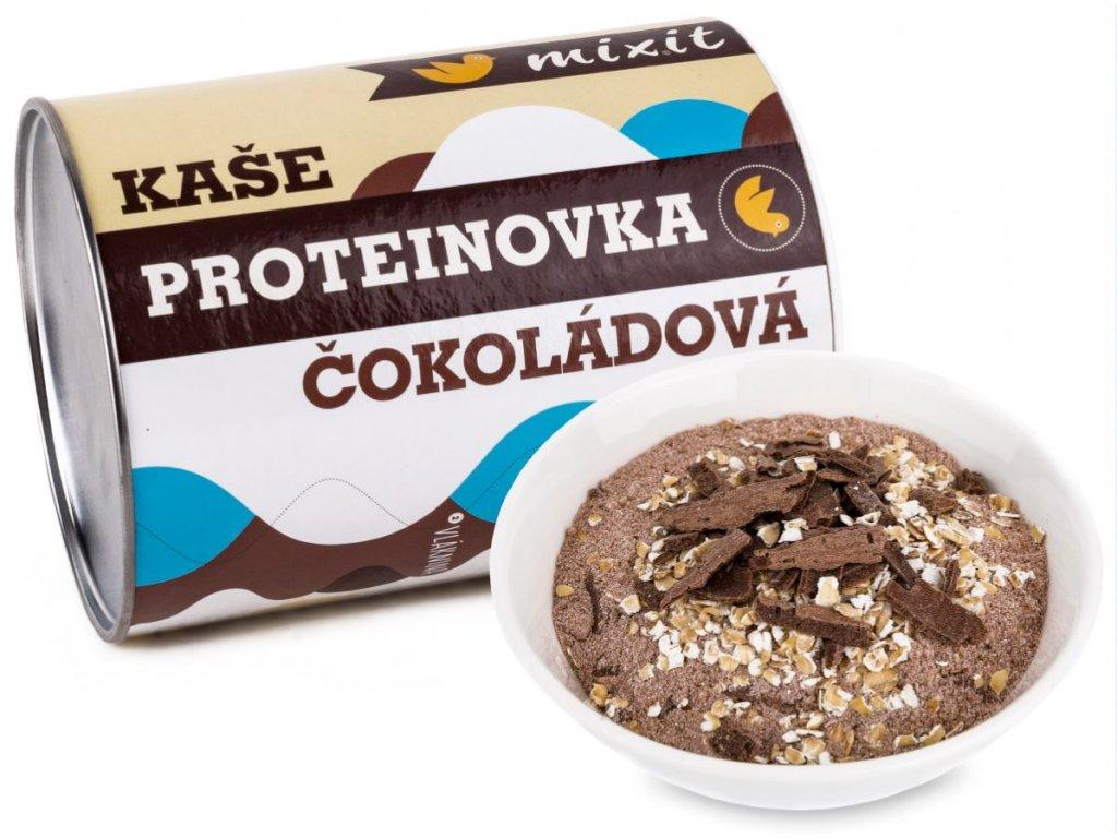 čokoládová proteinovka