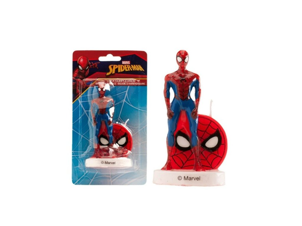 dekora dortova svicka spiderman 1ks
