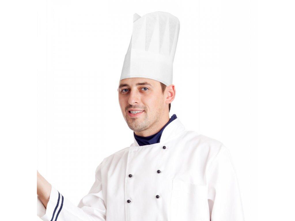 kucharska cepice bila 24cm10ks 68224 vyprodej