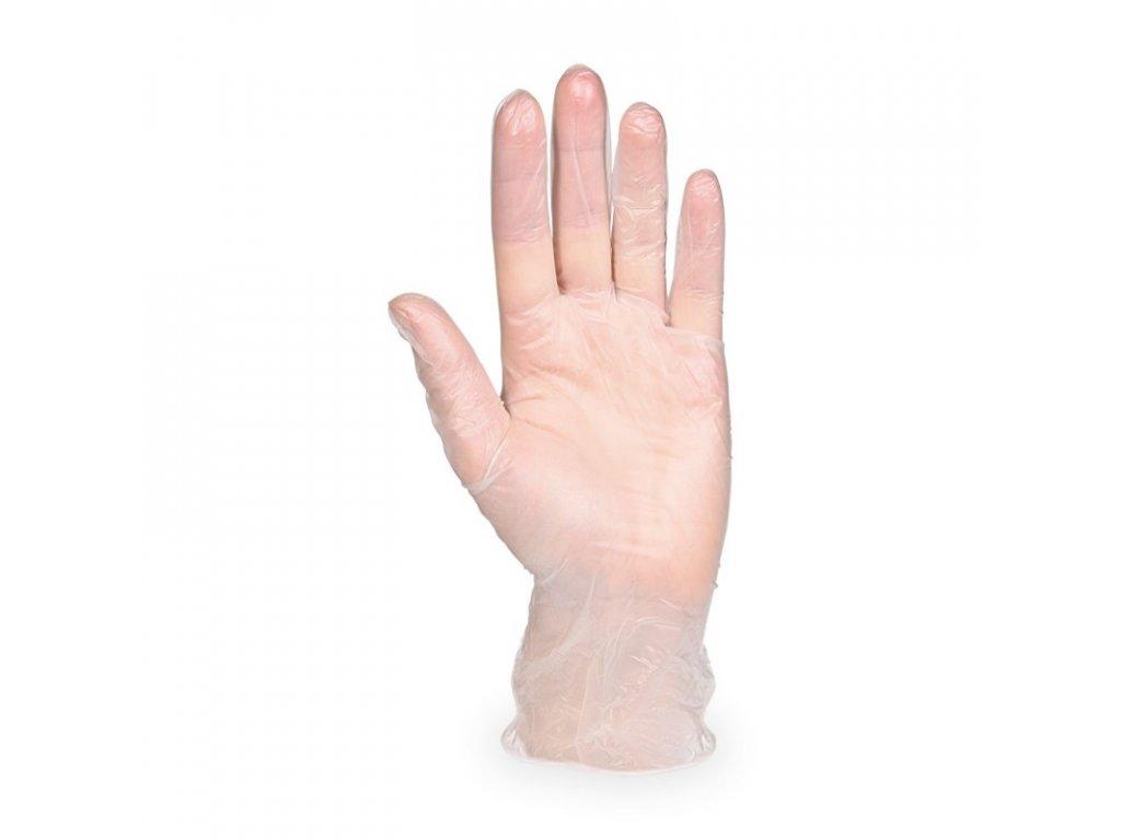vinylove rukavice nepudrovane s bile100ks 68125