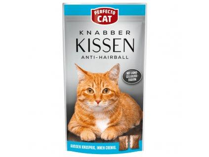 Perfecto Cat Knabber Kissen Anti-Hairball 50g
