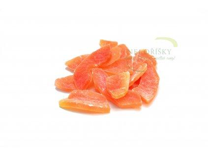 papaya plátky