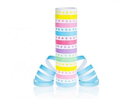 serpenrýny barevné puntíky