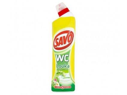 savo wc cistic dezinfekce louka 750 ml