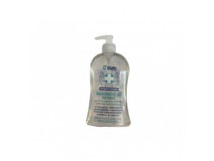 omay dezinfekcni gel na ruce s davkovacem 500ml