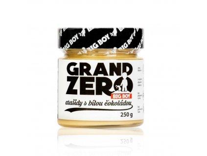 kremy big boy grand zero s bilou cokoladou 250g