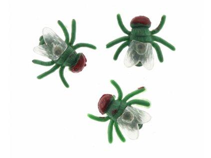 Umělé mouchy 3ks