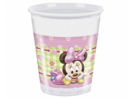 """Plastové kelímky """"Minnie Baby"""" 8 ks - 200 ml"""