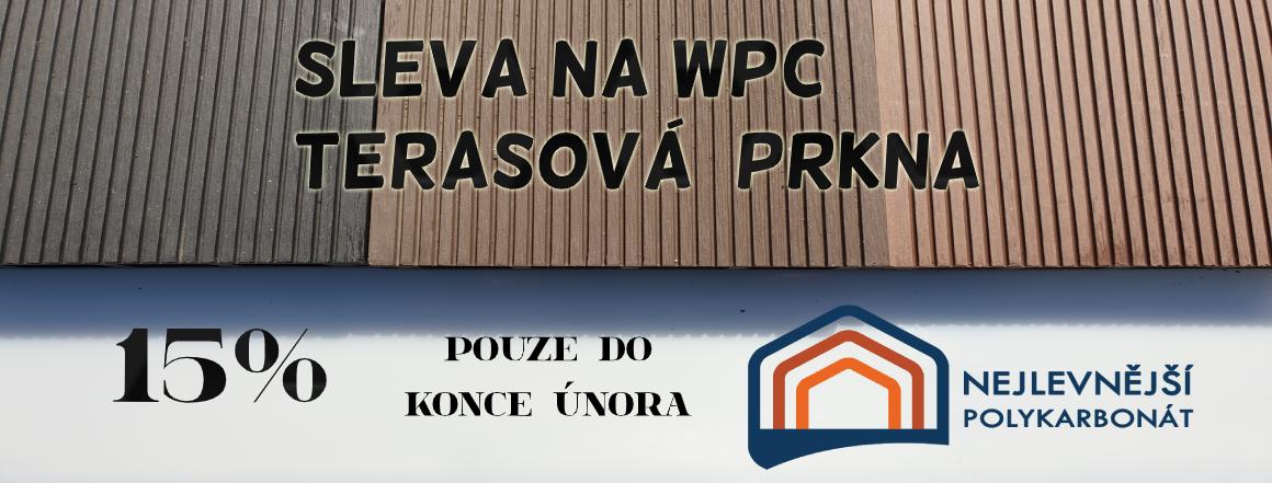 AKCE 15% DOLŮ WPC