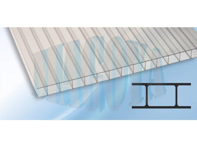 Polykarbonát 10 mm, čirý, Koscon Švýcarsko