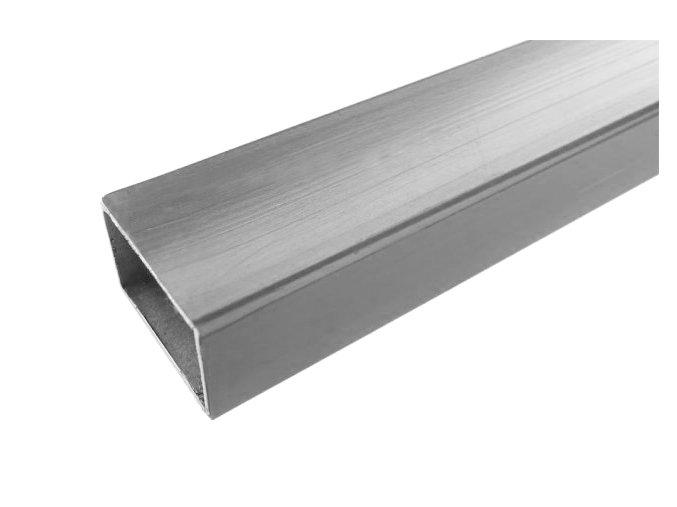 Vodorovná ocelová výztuha pro ploty a zábradlí • 20x30x2000 mm • 1760 g • nerez ocel