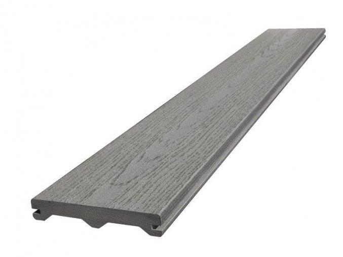 WPC terasové prkno Nextwood FULL LINE 23x137x4000mm, šedá