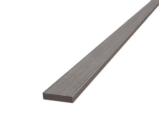 WPC terasová lemovací lišta Nextwood FULL line, šedá