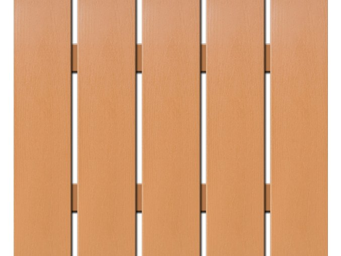 WPC široká plotovka Nextwood, olše, délka 80 cm