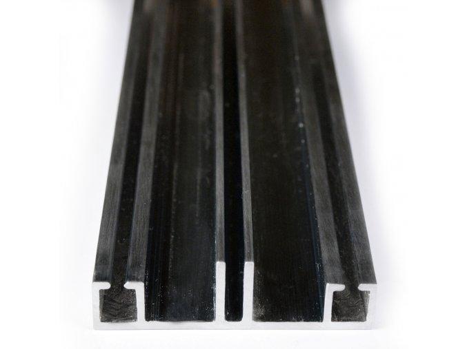 Hliníková krycí lišta - spodní díl