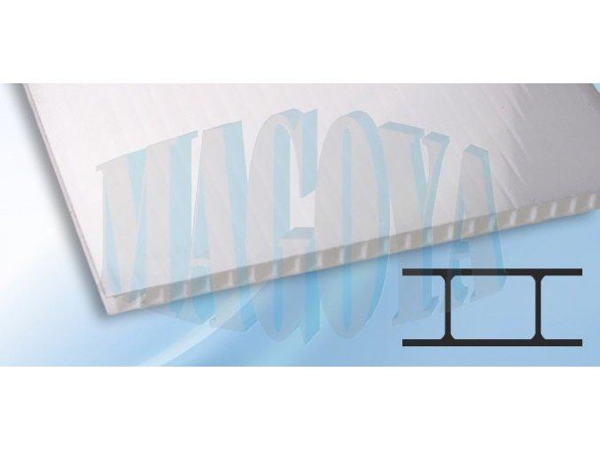 Polykarbonát 8 mm, opál
