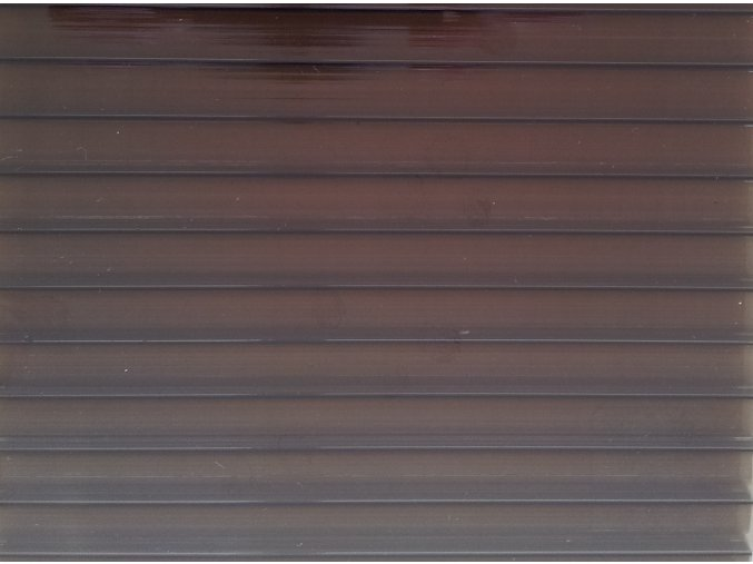 Polykarbonát 10 mm, bronz, BASIC - Palram - doprodej  Garance spokojenosti