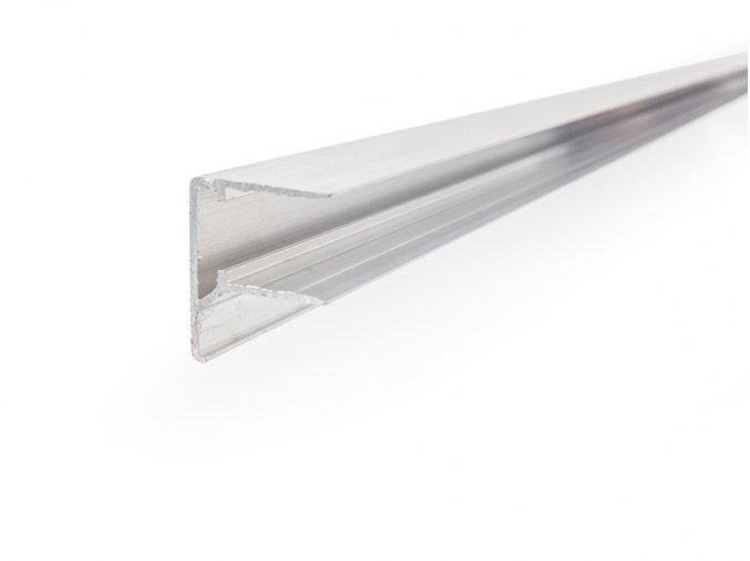 Hliníková lišta F 6 mm