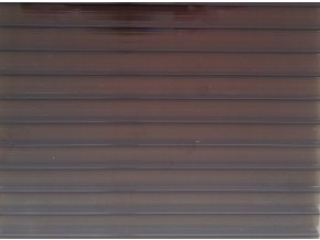 Polykarbonát 10 mm, bronz, Arla Plast