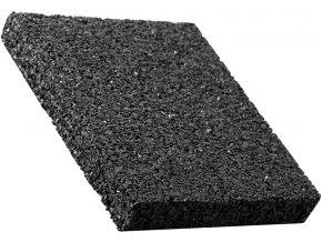 Pryžová podložka 10 mm • 80x60 mm