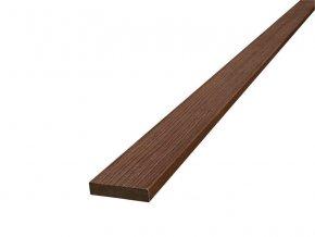 WPC terasová lemovací lišta Nextwood FULL line, hnědá