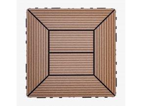 Nextwood WPC dlaždice 300x300 mm, barva timber
