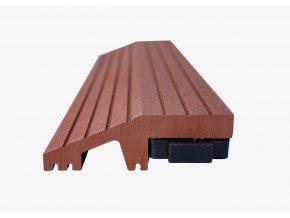 Nextwood WPC ukončovací lišta dlaždic, rovná, barva třešeň