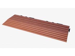 Nextwood WPC ukončovací lišta dlaždic, pravá rohová, barva třešeň