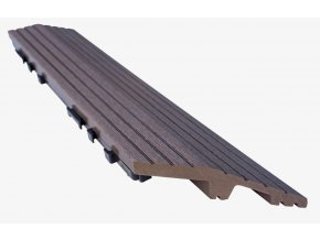 Nextwood WPC ukončovací lišta dlaždic, levá rohová, barva wenge