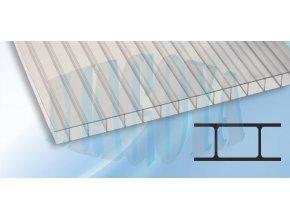 Polykarbonát 4 mm, čirý - od 130 Kč/m2 s DPH