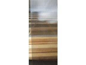Polykarbonát STRONG 10 mm, medový