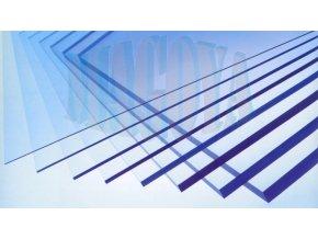 Plné polykarbonátové desky; tloušťka 2mm
