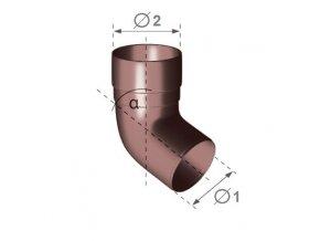 Okapové koleno 67,5°