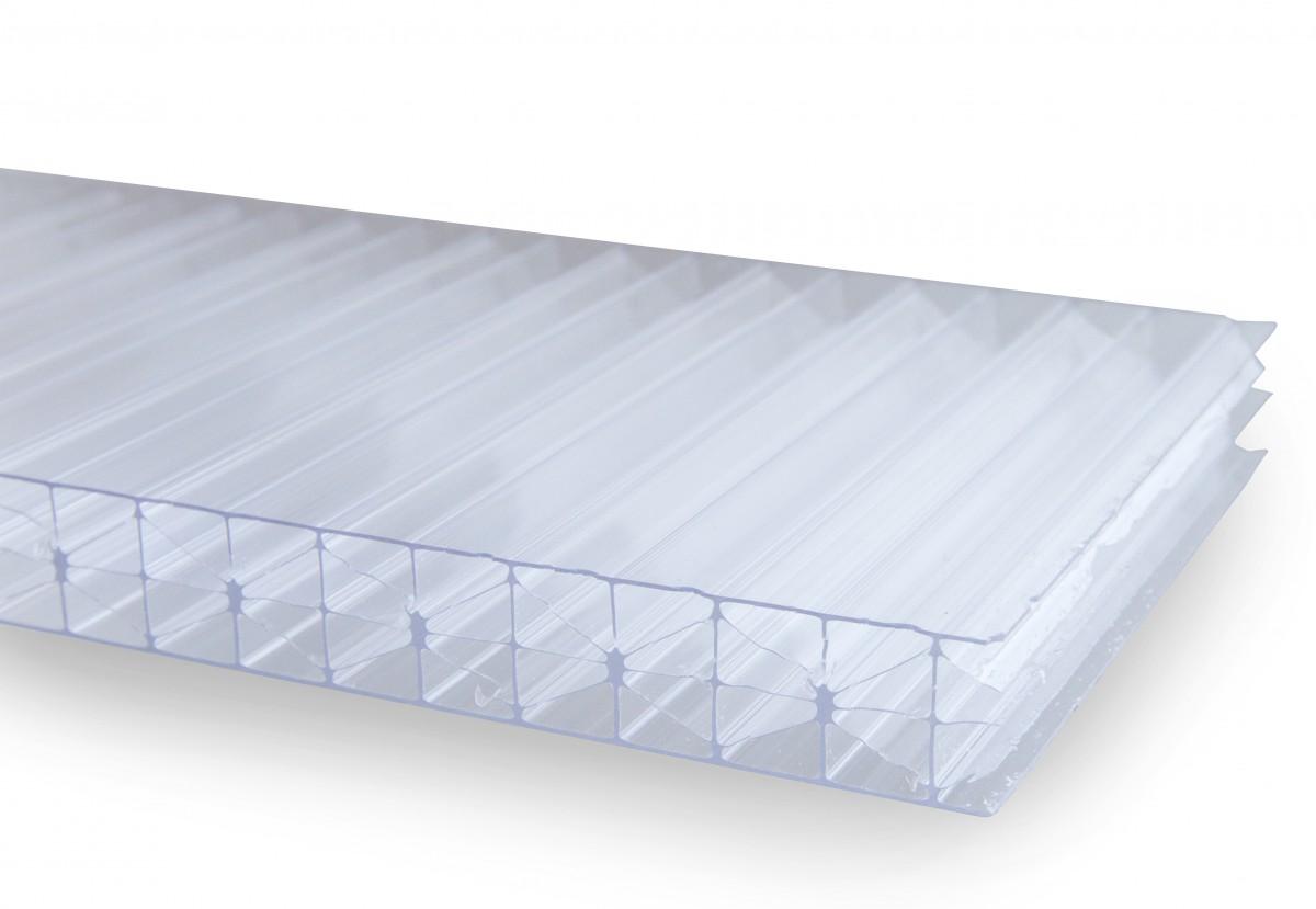 Komůrkový polykarbonát STRONG, opál, 10mm Rozměry: celá deska 2,1 x 6 m