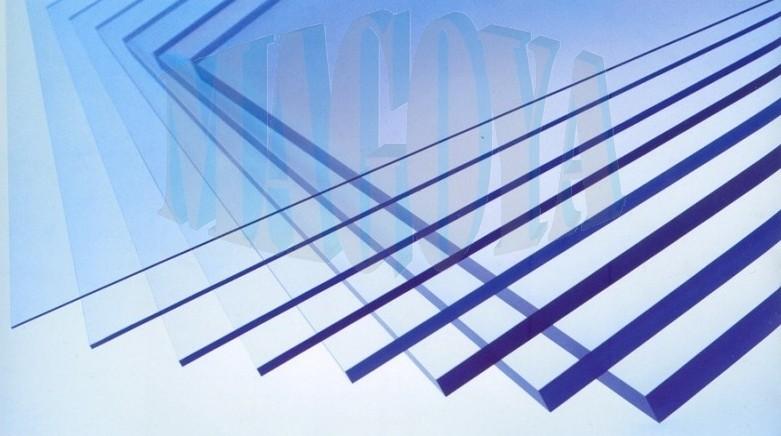 Plné polykarbonátové desky; tloušťka 4mm Tloušťka: 4 mm, Rozměr v mm: 2050 x 3050