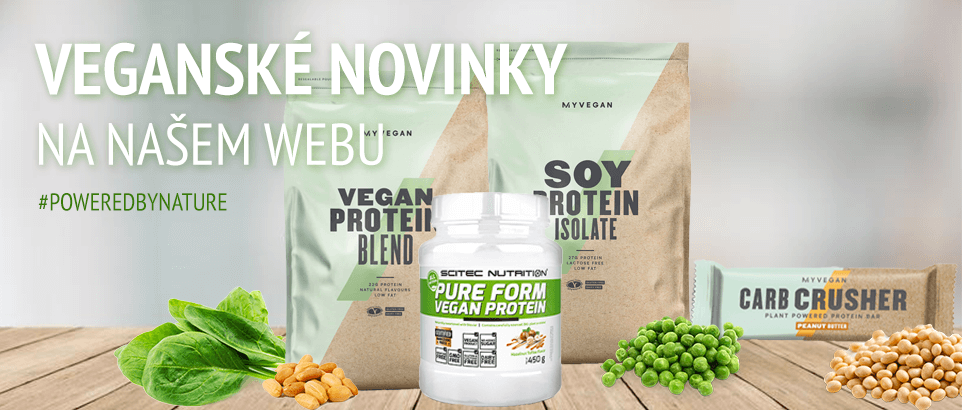 Veganské rostlinné proteiny